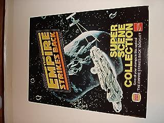 Star Wars ESB Burger King Super Scene Collection Poster/Booklet Vintage 1980