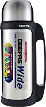 Geepas Vacuum Flask, 1.8L | Stainless Steel Vacuum Bottle Keep Hot & Cold Antibacterial topper & Cup - Perfect for Outdoor...