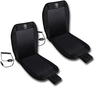 VaygWay 黑色座椅冷藏垫座椅盖被和释放冷空气坐垫 2 件套