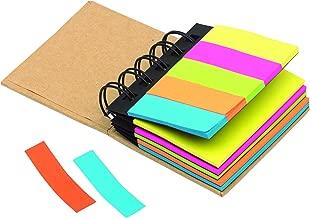 in 5 colori Set di 2 mini raccoglitori ad anelli in materiali riciclabili notrash2003 per appunti e evidenziatori