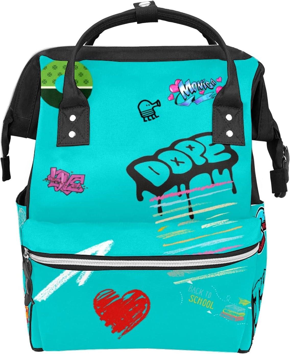 Graffiti Rock Doughnut Max 81% OFF Macaroon Pastel Ladi Series Store Travel School