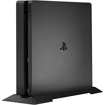 Kailisen PS4 Slim Vertical Stand for Playstation 4 Slim with Built-in Cooling Vents and Non-Slip Feet