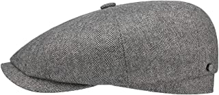 Stetson Hatteras Cashmere Silk Flat Cap Men - Made in Germany