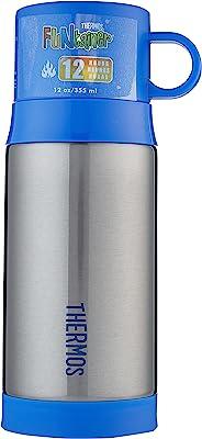 Thermos FUNtainer Warm Beverage Bottle, 355ml, Smoke, F2005SM6AUS