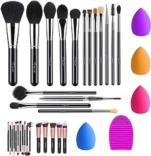 BESTOPE 16 Pcs Makeup Brush Set & 16 Pcs Makeup Brush Set & 4 Pcs Makeup Sponges..