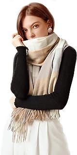 Turquesita Mar Bufanda Chal Lana Bufanda de imitación de cachemira Bufanda de imitación de lana Chal de imitación de cache...