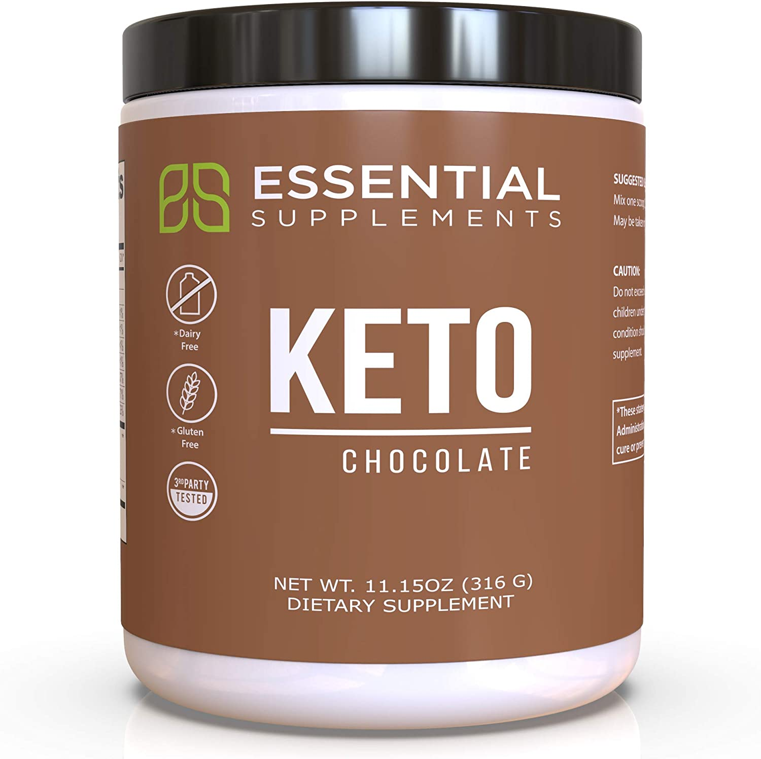 Essential Supplements® Exogenous Ketones P Keto Chocolate Deluxe BHB Year-end annual account