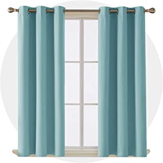 Aqua Curtain Panels