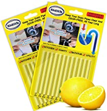 Sidith Drain Cleaner Sticks, Sink Deodorizer (24 Pcs), Sink Freshener to Keep Odor Free As Seen On TV for Bathroom, Kitche...