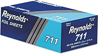 Pop-Up Interfolded Aluminum Foil Sheets in Silver, 500/Box