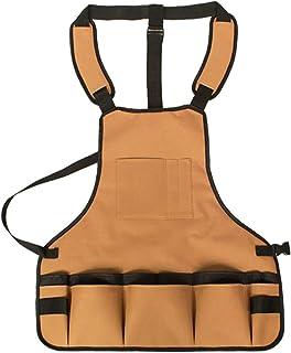 Gardening ApronsGarden Tool Apron Oxford Cloth Adjustable Waist Tool Apron with Pockets Gardening Kit Multifunctional Wear...