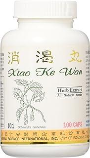 Diabetic Formula Dietary Supplement 500mg 100 Capsules (Xiao Ke Wan) J01 100% Natural Herbs