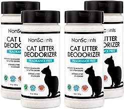 NonScents Cat Litter Deodorizer – Litter Box Odor Eliminator – Fragrance Free – Longer Kitty Litter Life