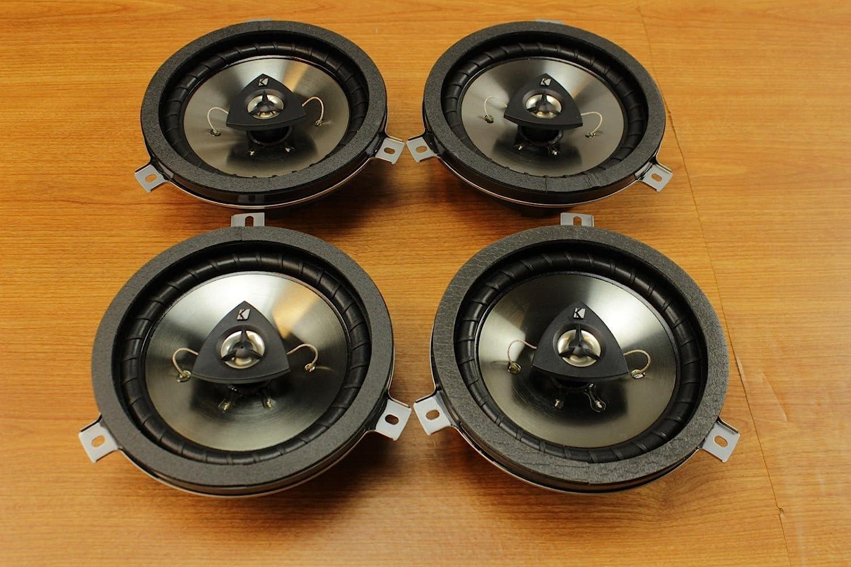 Chrysler El Paso Mall Jeep Dodge Max 54% OFF 6.5inch Kicker Speaker 4 Mopa Set Upgrade of
