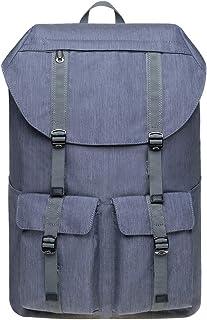 KAUKKO Vintage Unisex Rucksack Studenten 17 Zoll Backpack für 14 Notebook Lässiger Alltagstasche,45cm, 20L