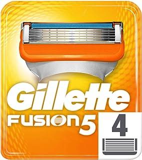 Gilette Fusion5 Razor 4 Blades for Men