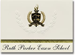 Signature Announcements Ruth Parker Eason School (Millersville, MD) Graduation Announcements, Presidential style, Basic pa...