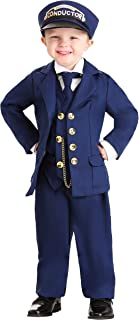 North Pole Train Conductor Costume Toddler