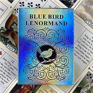 Bluebird Lenormand Oracleカード運用都護予測ボードゲームポーカータロット初心者カード運命占い予言ボードゲーム