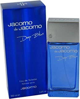 Jacomo De Jacomo Deep Blue by Jacomo for Men Eau de Toilette 100ml