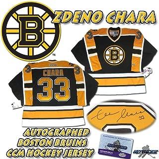 Zdeno Chara Signed Jersey - CCM w COA HOLOGRAM - Autographed NHL Jerseys