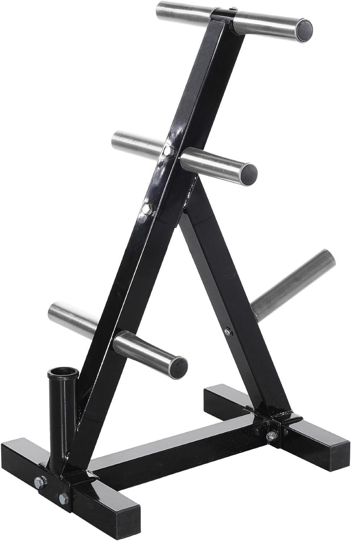 Powertec Fitness Workbench Weight Rack, Black