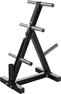 Powertec Fitness Workbench Weight Rack, Black