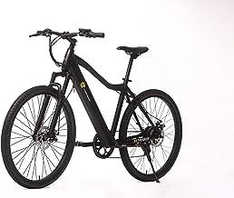 E-Trends Unisex's Trekker Ebike E-Bike, Black, One Size