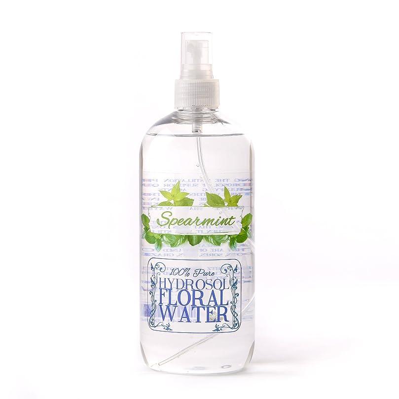 師匠支出シートSpearmint Hydrosol Floral Water With Spray Cap - 1 Litre
