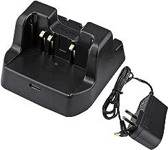 abcGoodefg 2 Way Radio Battery Charging Dock Desktop Rapid Charger for Yaesu Vertex-Standard