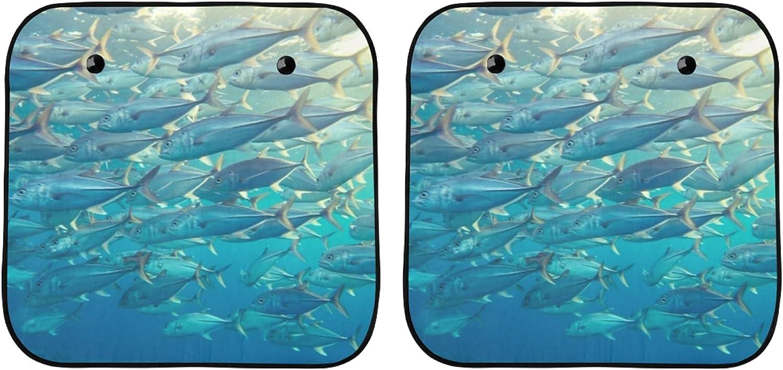 Fashionable YPink Car Windshield Sun Shade SUV Colorado Springs Mall Fish Tuna Sunsh Cool Deep-sea