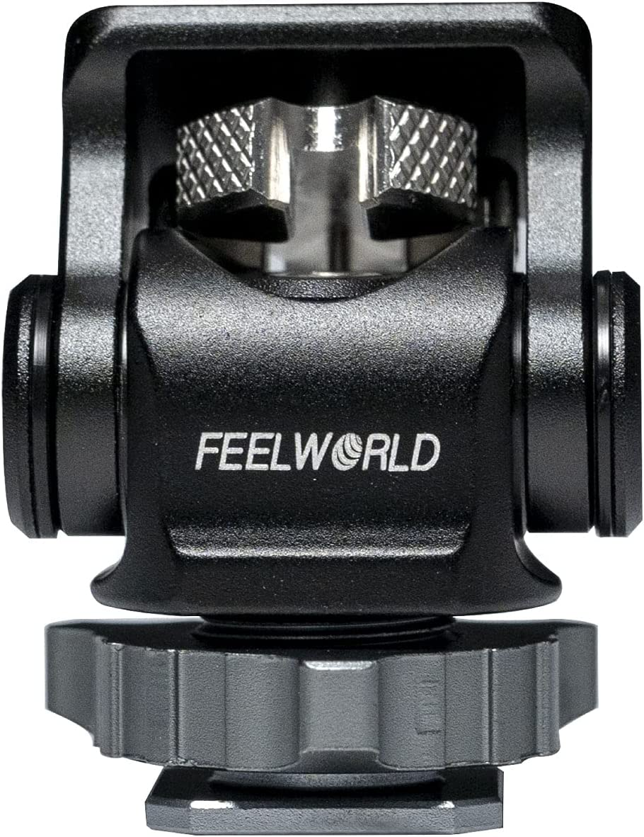 FEELWORLD Mini Hot Shoe Max 57% OFF Stand Camera At the price of surprise Degree Up Monitor 180 Mount