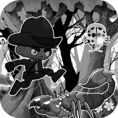 Limbo Coboy is a new run adventure game with a strange world , you play with a coboy and try to escape from the dangerous jungle, enjoy this game for free and good luck !