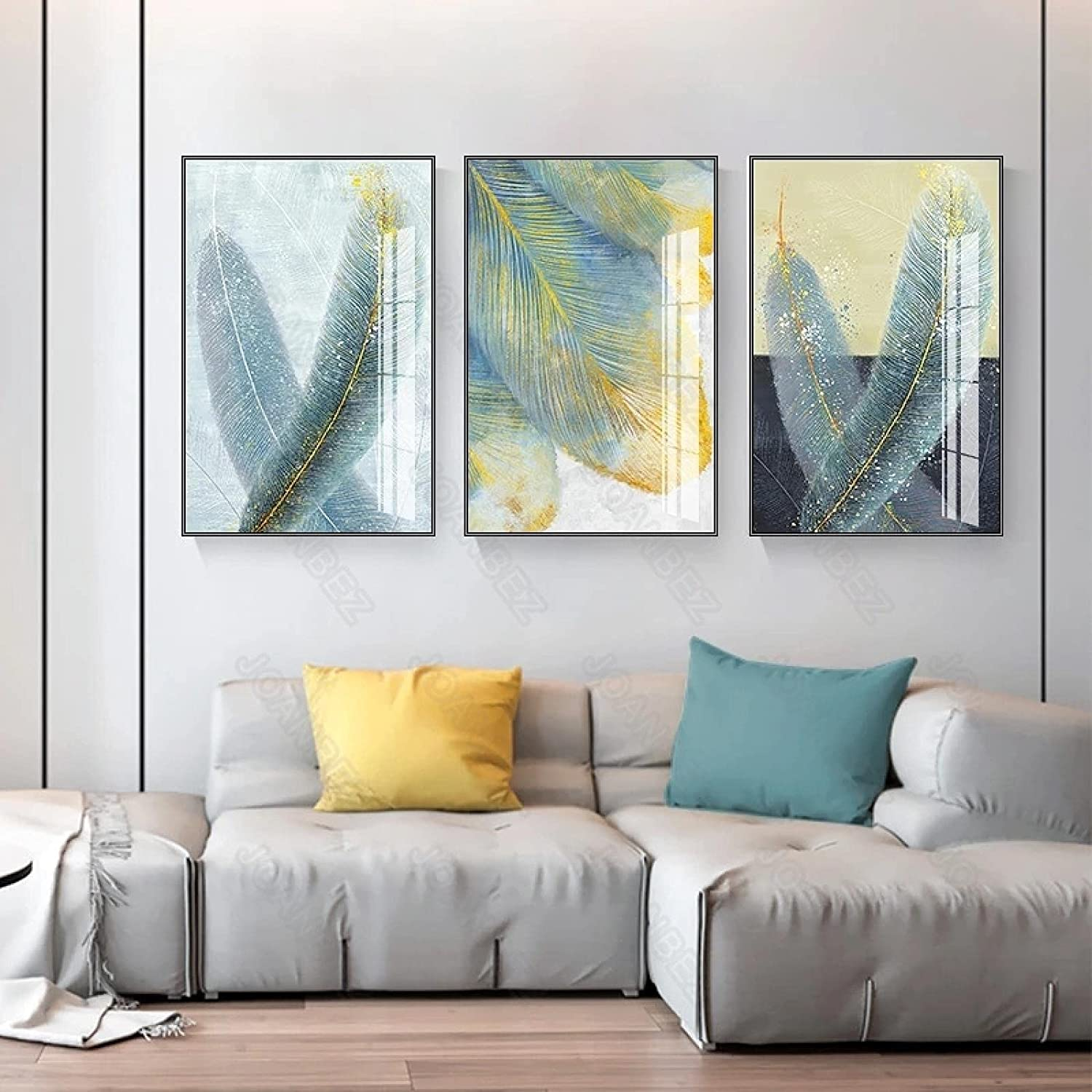 Houston Max 63% OFF Mall Wall Floral Art for Living Room Painting Decor Ligh Style Modern