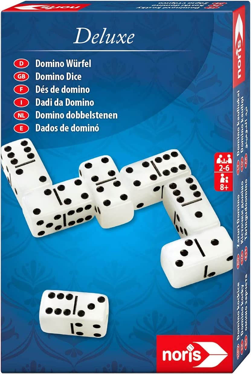 Noris 606101931 Deluxe low-pricing Domino Dice – Game an Risk The Limited time cheap sale Where