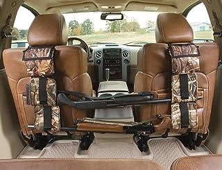 astDeals Hunting Gun Sling, Car Concealed Seat Back Gun Rack to Hold 2 Rifles/Shotguns with A Storage Bag for Rifle Huntin...
