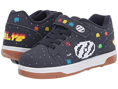 Heelys Dual Up x2 (Little Kid/Big Kid) (Navy/Multi/Asteroids) Boys Shoes