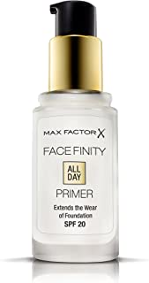Max Factor Facefinity All Day  Primer, Transparent, 30ml,