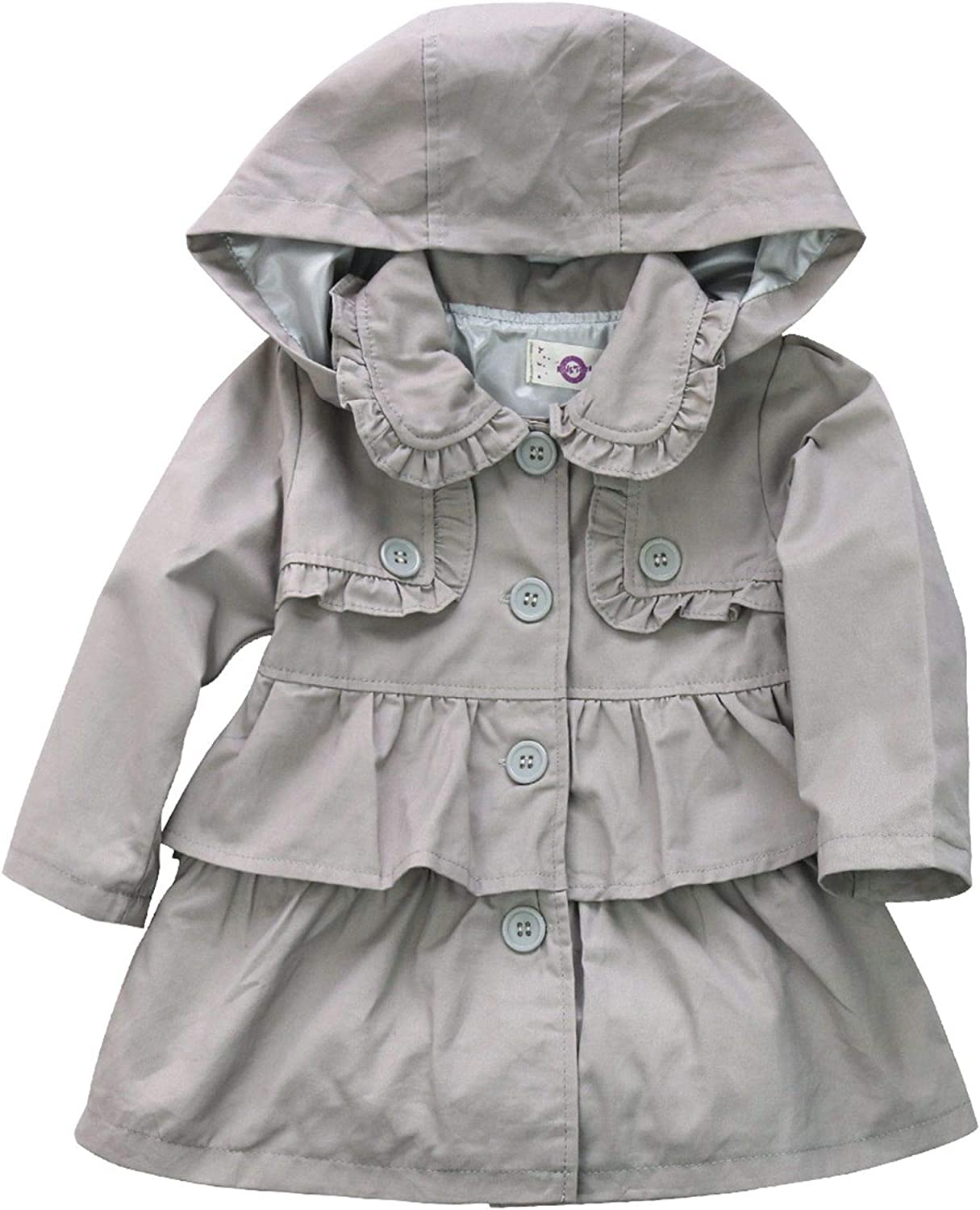 YiZYiF Kids Baby Girls Winter Hooded Oakland Mall Out Jacket San Diego Mall Trench Coat Wind