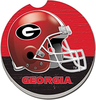 CounterArt Georgia Bulldogs Helmet Individual Car Coaster