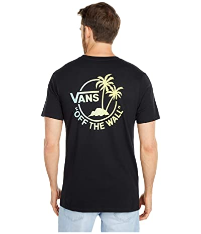 Vans Mini Dual Palm II T-Shirt (Black/Gradient) Men