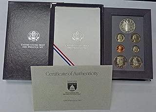 1989 prestige proof set