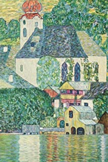 Gustav Klimt Church in Unterach on Lake Attersee Cool Wall Decor Art Print Poster 24x36