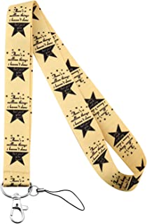 PLITI Hamilton Gifts Musical Broadway Musical Gift There's A Million Things I Haven't Done But Just You Wait Phone Lanyard...