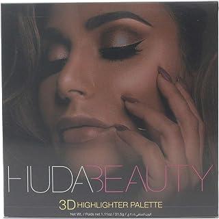 Huda Beauty 3D Highlighter Palette- Golden Sands