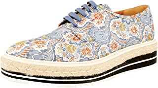 Prada Women's 1E441F Fabric Lace-up Shoes