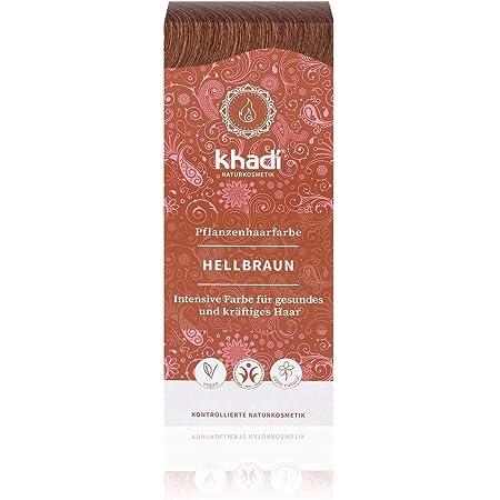 Khadi Tinte Herbal Color Castaño Claro, 100 g