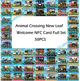 50pcs NFC NTAG215 Card Work for Animal Crossing New Leaf Welcome NFC Printing Card