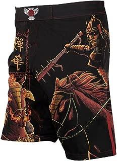 Raven Fightwear Men's Horsemen of The Apocalypse War Samurai MMA Shorts Black