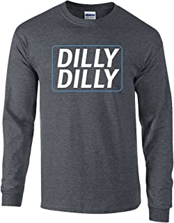 Funny Beer Drinking Dilly Dilly Adult Long Sleeve T-Shirt